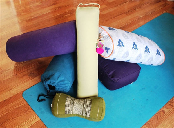 How to Use a Yoga Bolster