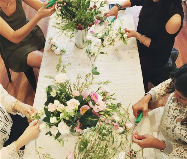 Flower Power: Flower Crown Workshop