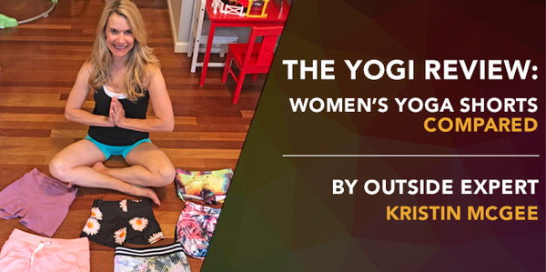 The Yogi Review: Women's Yoga Shorts Compared