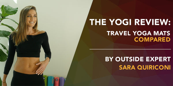 The Yogi Review: Travel Yoga Mats Compared
