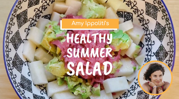 Amy Ippoliti's 6-Ingredient, Gut-Healthy Salad