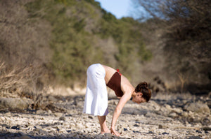 How to Do Half Standing Forward Fold in Yoga