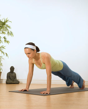 How To Do Plank Pose In Yoga Yogaoutlet Com