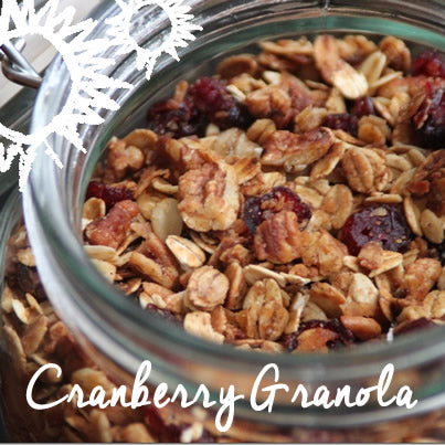 Healthy Eats: Homemade Cranberry Granola
