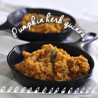 Healthy Eats: Pumpkin Herb Quinoa