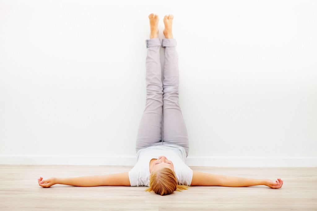 How to Do Legs Up the Wall in Yoga – YogaOutlet com