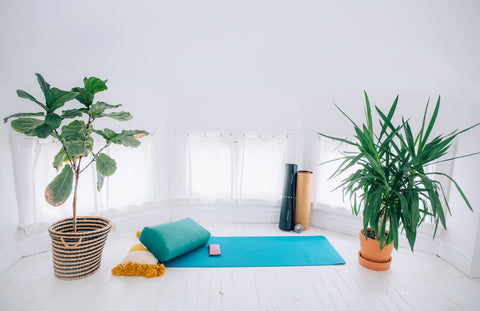 How To Set Up A Home Yoga Studio Simple Tips From Amy Ippoliti Yogaoutlet Com
