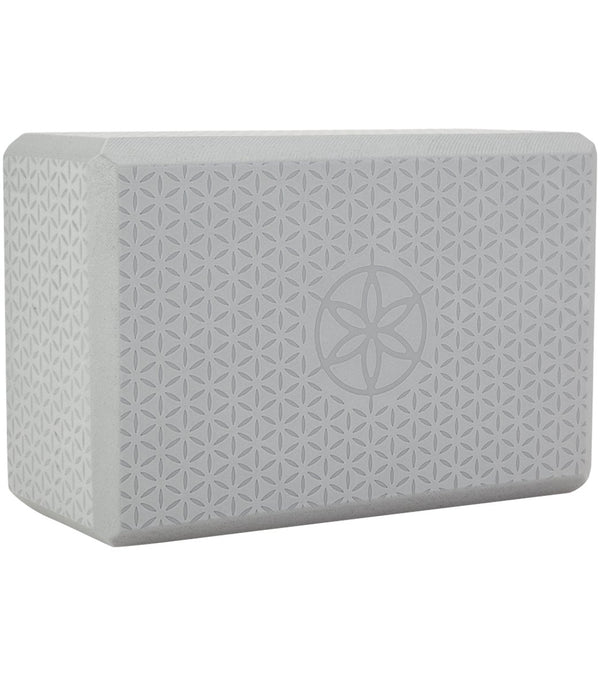 Gaiam Flower Of Life Embossed Foam Yoga Block