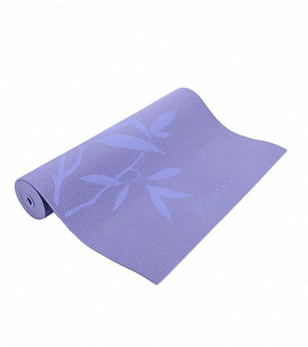 "Gaiam Ash Leaves Premium Yoga Mat 68"" 5mm"