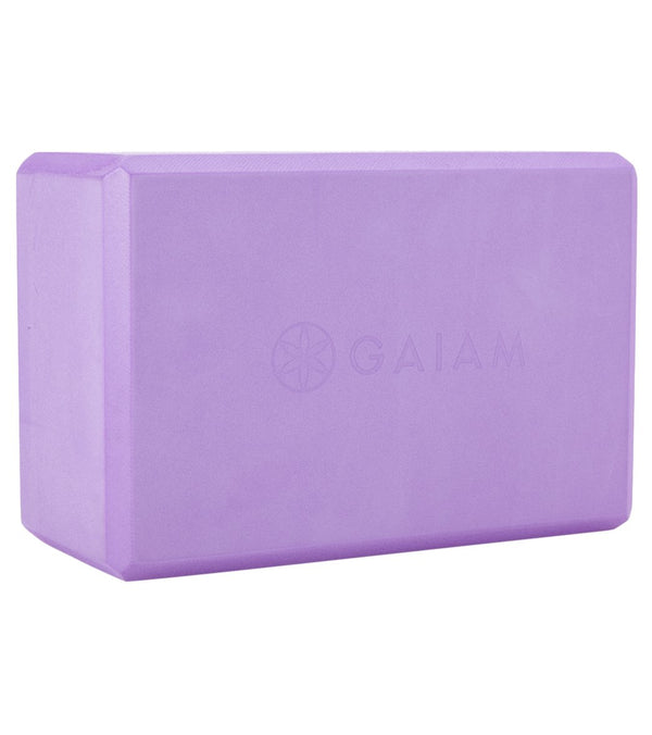 Gaiam Foam Yoga Block 4 Inch