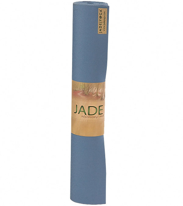 "Jade Yoga Harmony Natural Rubber Yoga Mat 74"" 5mm"
