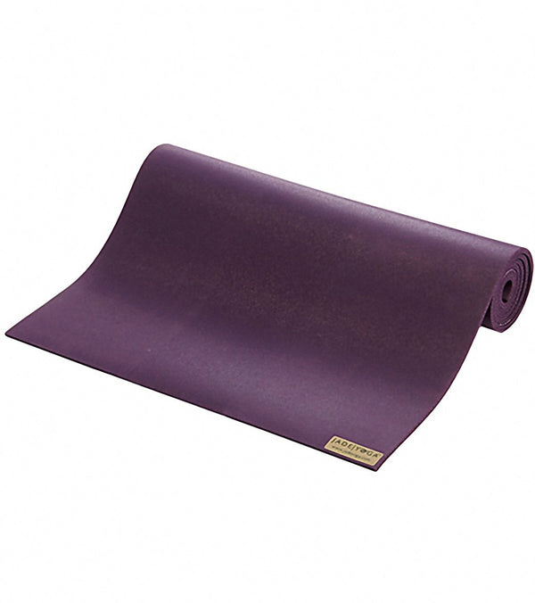 "Jade Yoga Fusion Natural Rubber Yoga Mat 68"" 8mm Extra Thick"