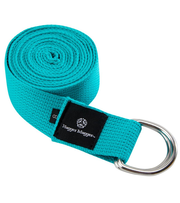 Hugger Mugger D-Ring Cotton Yoga Strap 10'