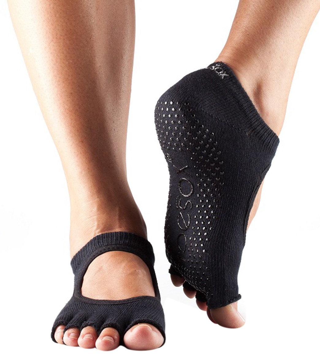 toesox Womens Grip Half Toe Scrunch Fall 2017 Collection
