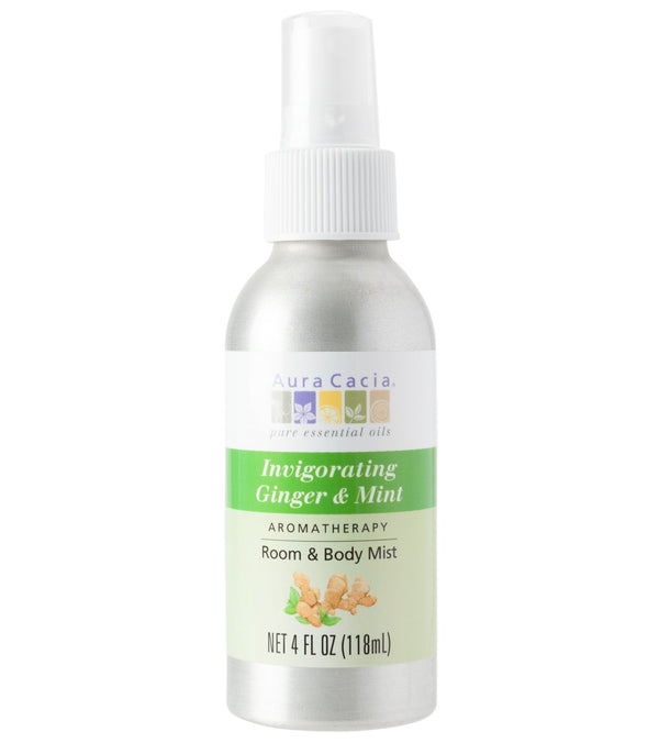 Aura Cacia Invigorating Ginger/Mint Mist