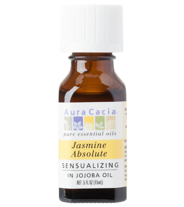 Aura Cacia Jasmine Absolute (in jojoba oil) - Precious Essentials