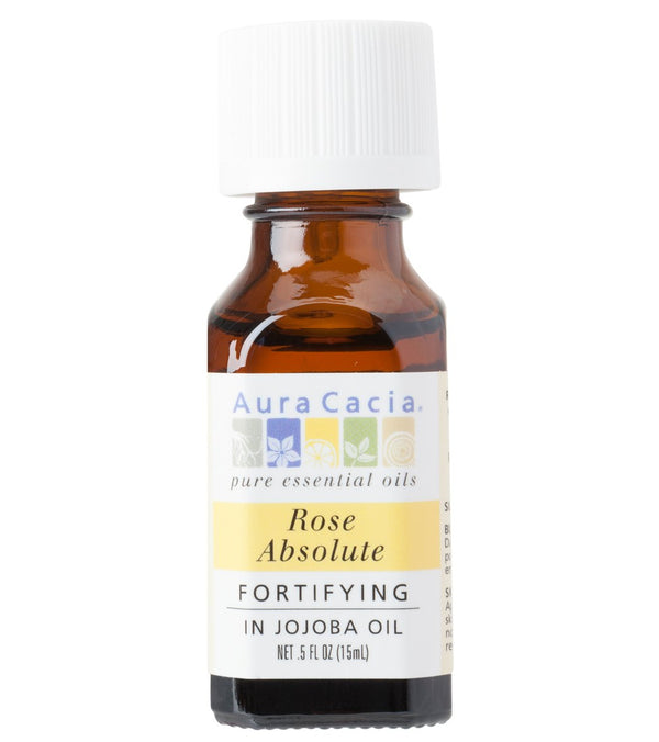 Aura Cacia Rose Absolute (in jojoba oil) - Precious Essentials