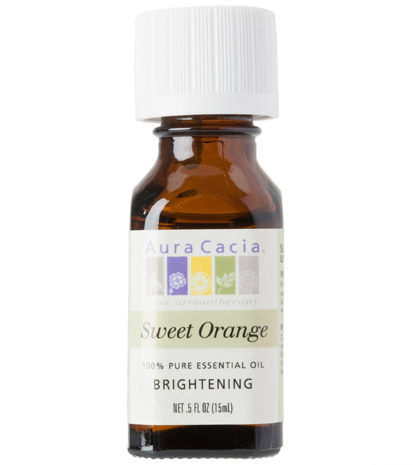 Aura Cacia Orange, Sweet 100% Pure Essential Oil - 0.5 oz
