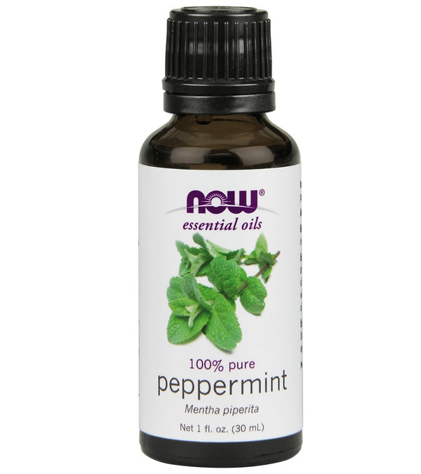 NOW 100% Peppermint Essential Oil 1 oz