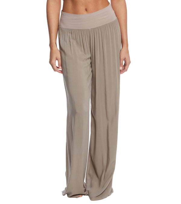 Hard Tail Flat Waist Wide Leg Yoga Pants