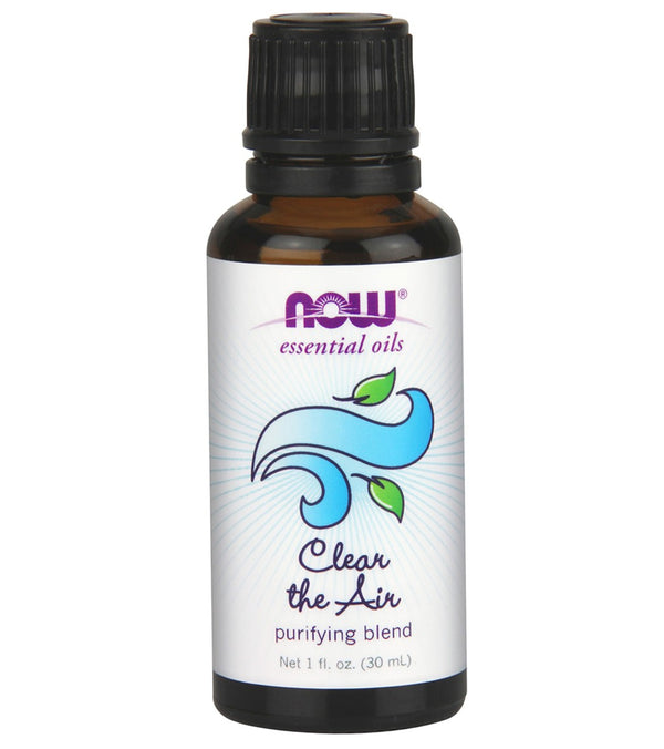 NOW Clear the Air/Purifying Essential Oil Blend 1 oz