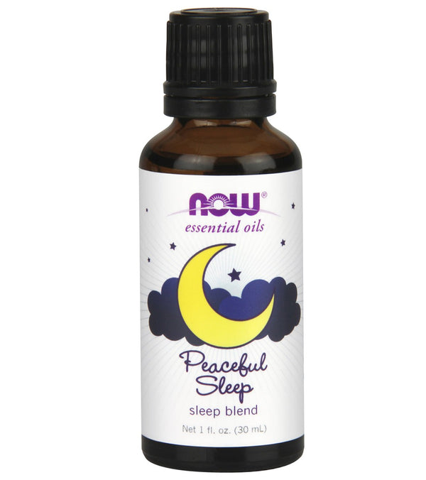 NOW Peaceful Sleep/Sleep Oil Blend 1 oz