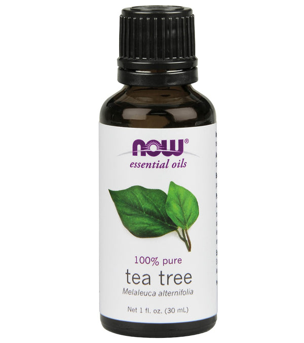 NOW 100% Pure Tea Tree Essential Oil 1 oz