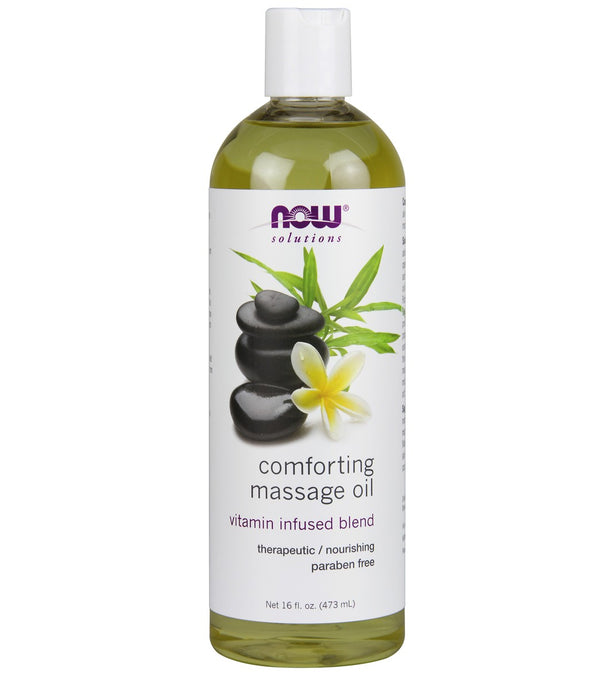 NOW Comforting Massage Oil 16 oz