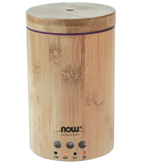 NOW Real Bamboo Ultrasonic Oil Diffuser