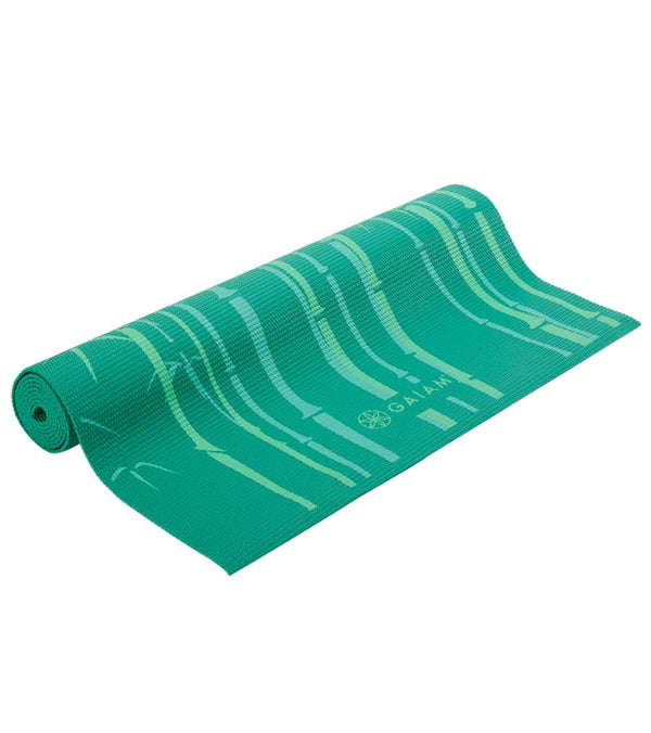 "Gaiam Green Bamboo Classic Yoga Mat 68"" 3mm"