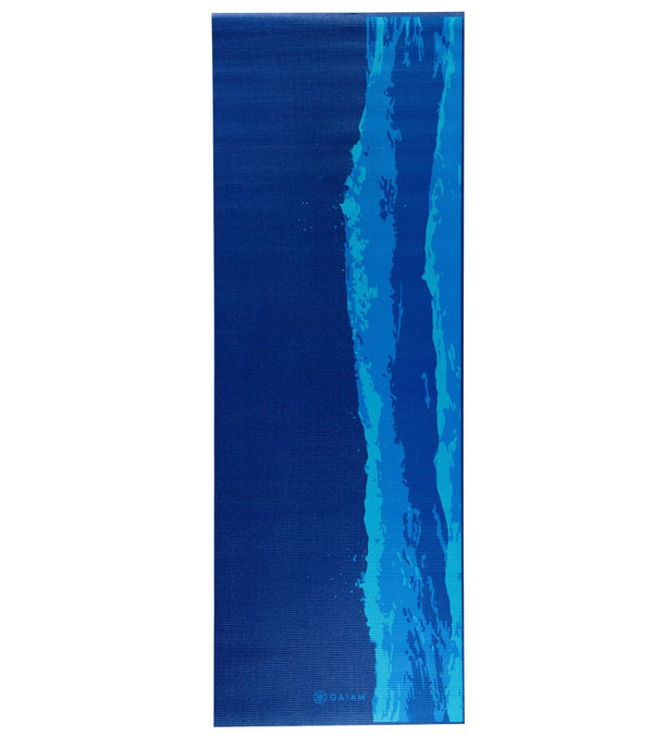 "Gaiam Oceanscape Premium Yoga Mat 68"" 5mm"