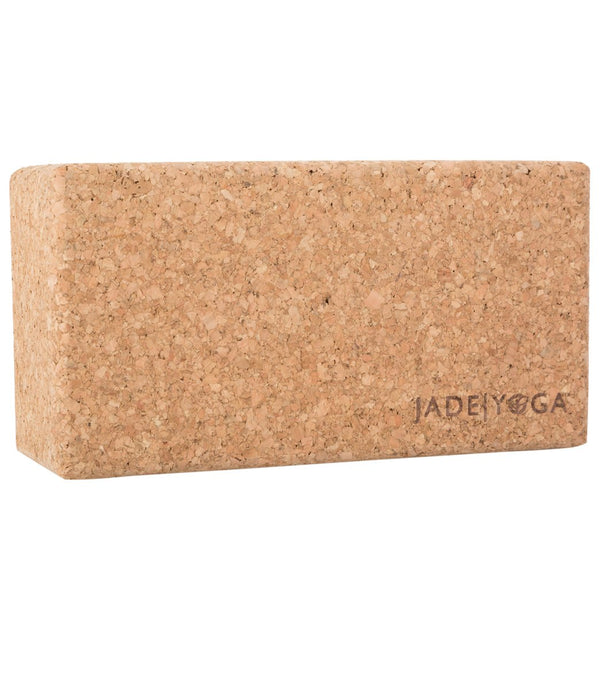 Jade Yoga Cork Yoga Block Small
