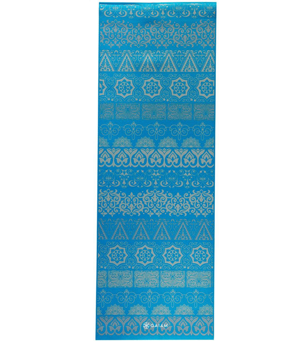 "Gaiam Reversible Elephant Premium Yoga Mat 68"" 5mm"