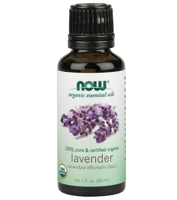 NOW Organic Lavender Essential Oil 1 oz