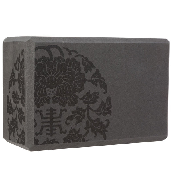 Gaiam Medallion Yoga Block