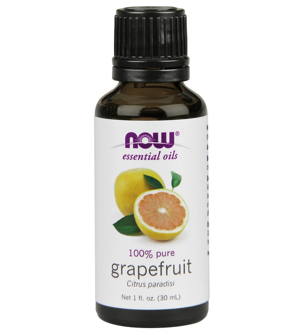 NOW 100% Pure Grapefruit Essential Oil 1 oz