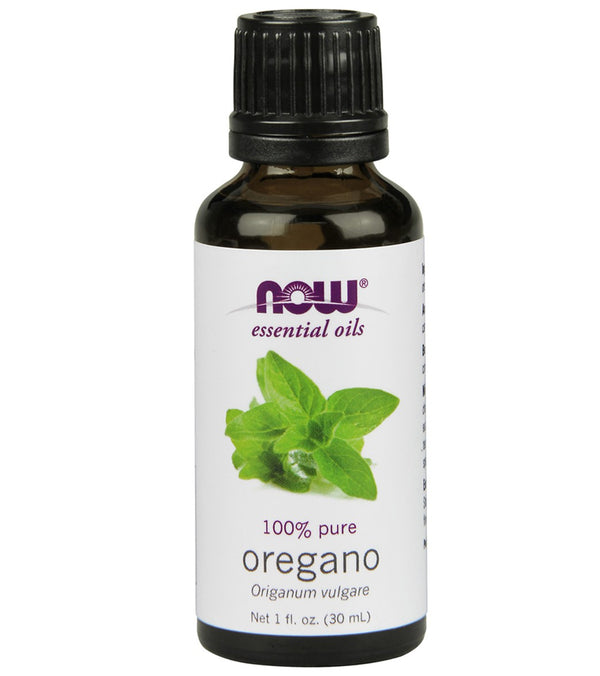 NOW 100% Pure Oregano Essential Oil 1 oz