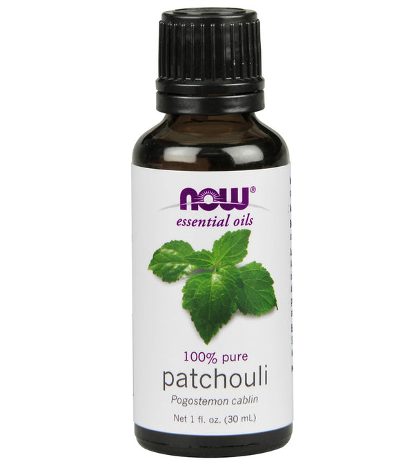 NOW 100% Pure Patchouli Essential Oil 1 oz