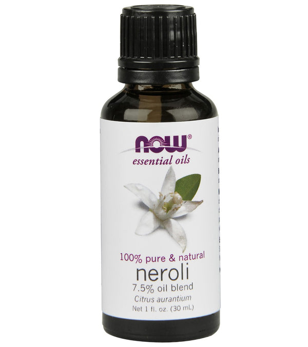 NOW 100% Pure & Natural Neroli Oil 7.5% 1 oz
