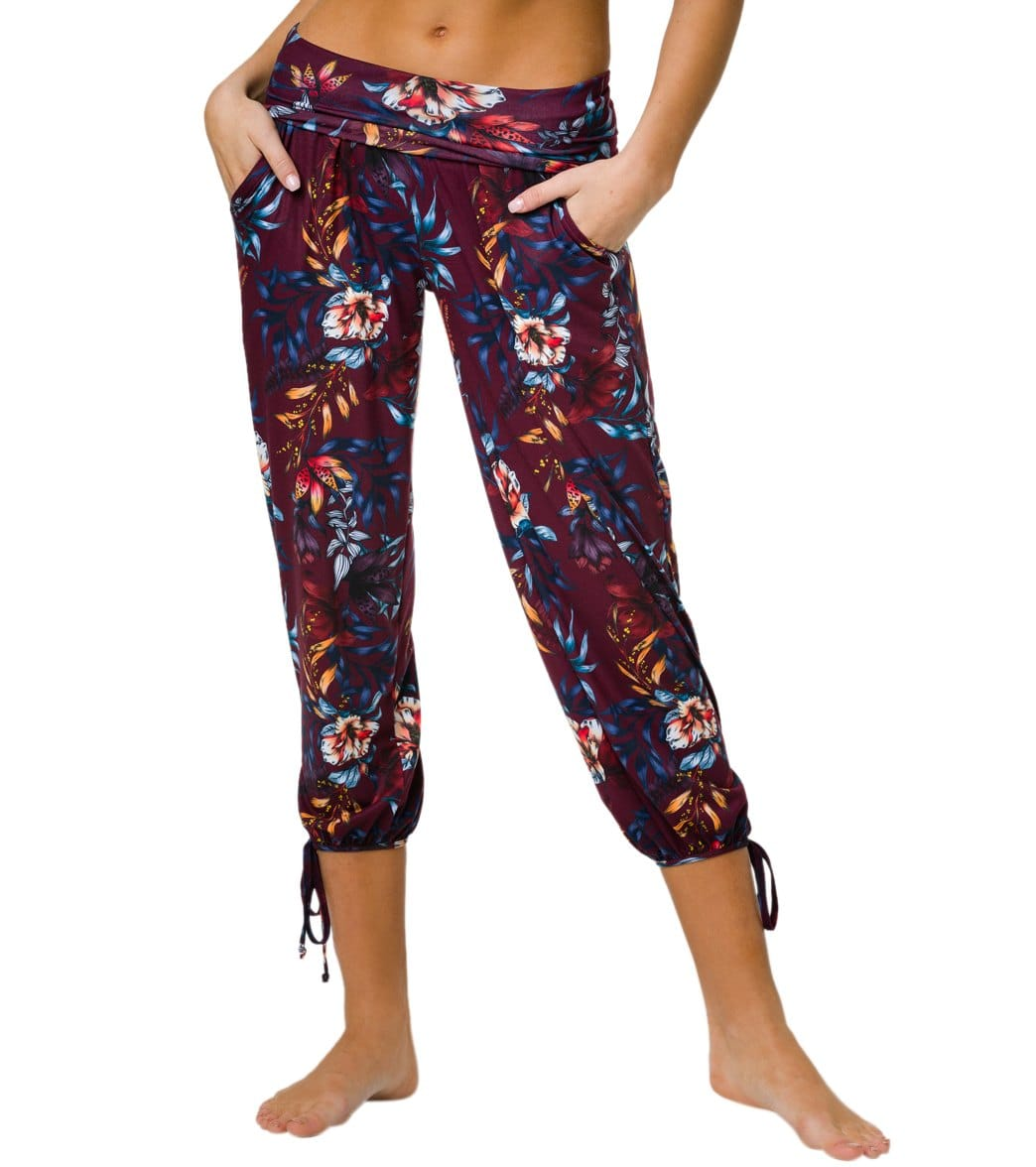 Onzie Gypsy Jogger Pants - Majestic Floral