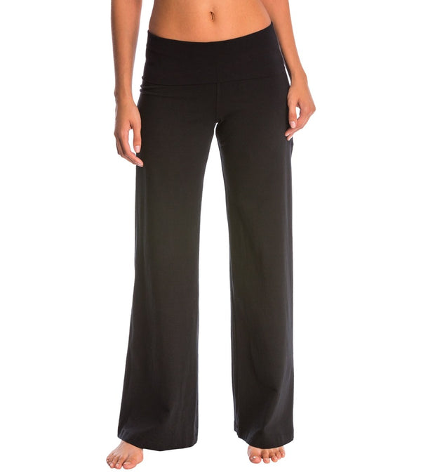 Hard Tail Contour Rolldown Wide Leg Yoga Pants