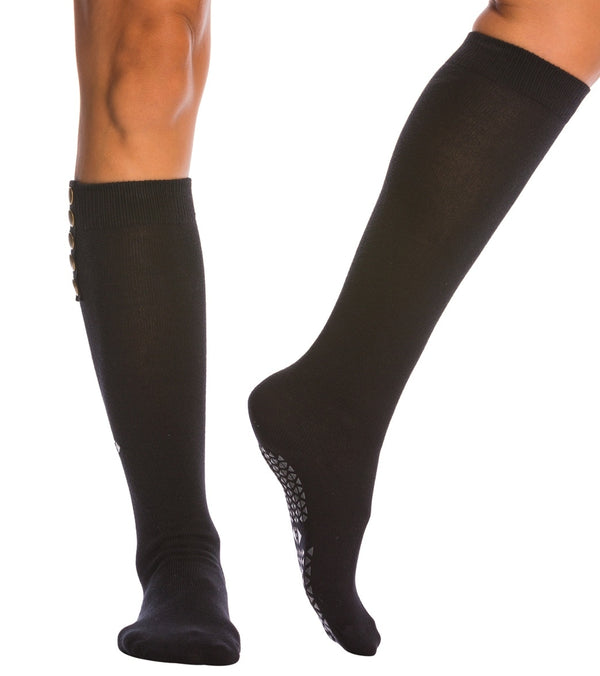 Tavi Noir Stella Knee High Barre Grip Socks