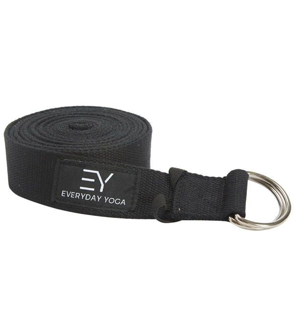 Everyday Yoga 10 Foot Yoga Strap D-Ring