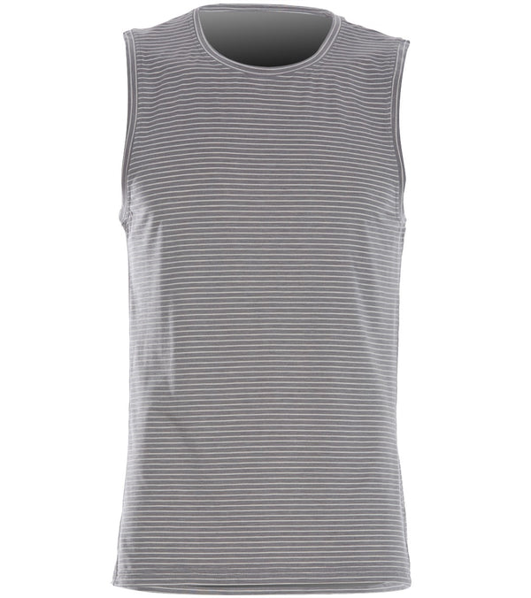 Manduka Men's Transcend Performance Stripe Tank