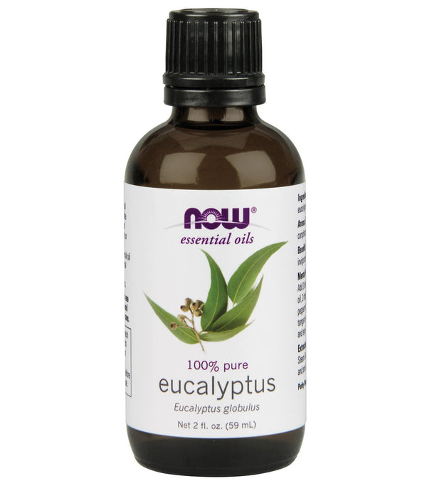 NOW 100% Pure Eucalyptus Oil 2 oz