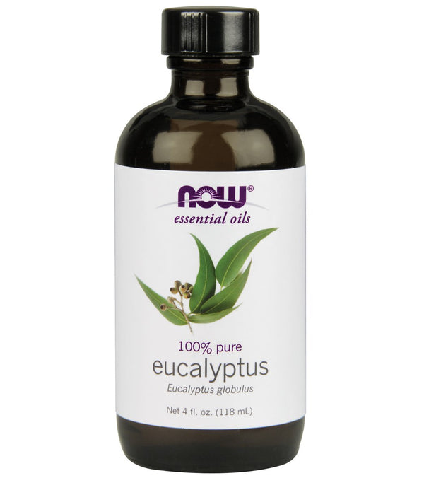 NOW 100% Pure Eucalyptus Oil 4 oz