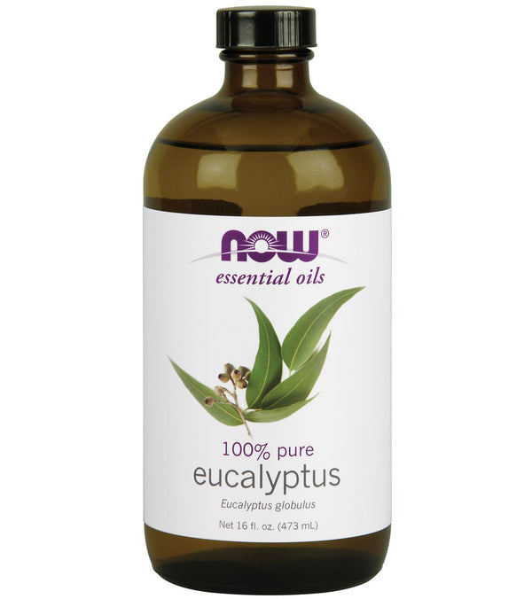 NOW 100% Pure Eucalyptus Oil 16 oz