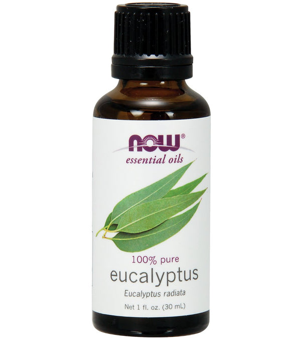 NOW 100% Pure Eucalyptus Oil (E. Radiata) 1 oz