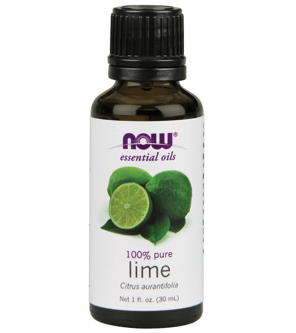 NOW 100% Pure Lime Oil 1 oz