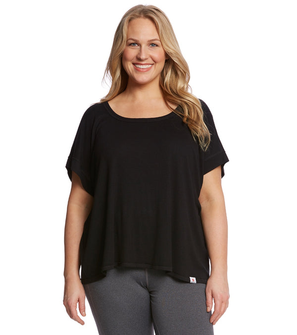 Vimmia Plus Size Serenity Split Back Workout Top